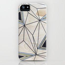Geometric Study on Wood iPhone Case