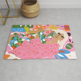 Living in Chaos Rug