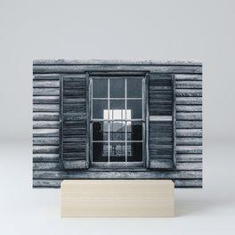 Window and Shutters Wooden House Henry House Henry Hill Manassas National Battlefield Park Mini Art Print