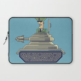 General Mayhem — cartoony vector illustration Laptop Sleeve