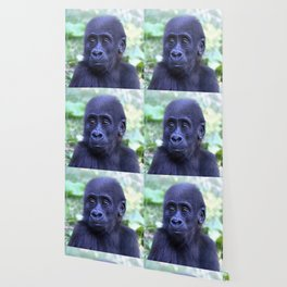 CArt Gorilla Baby Wallpaper