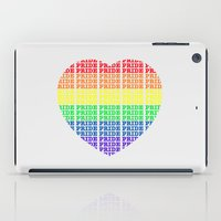 pride iPad Cases featuring Pride by Tony Vazquez