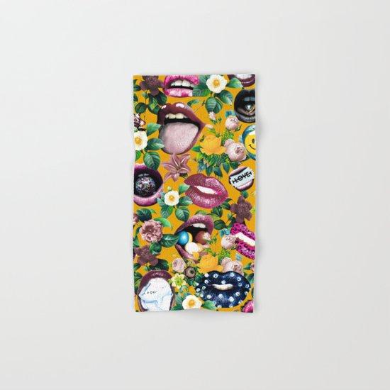 Sexy Floral Garden Hand & Bath Towel