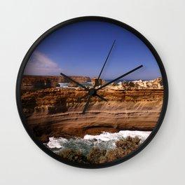 The Razorback Coastal Formation Wall Clock