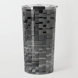 Three Dimensional cubes Travel Mug