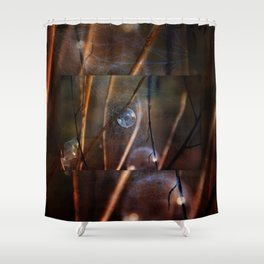Captured Fairy Shower Curtain
