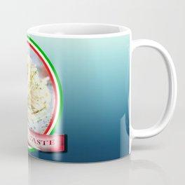 Food. Rolled spaghetti. Italian taste. Coffee Mug