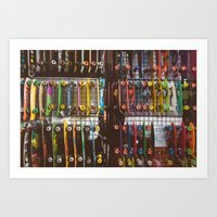 skate Art Prints featuring Skate by fusillo.foto