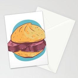 Bavarian sandwich Stationery Cards