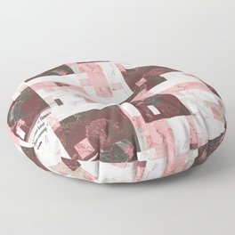 You can cut all the flowers but you cannot keep spring from coming. Floor Pillow