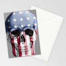 American Skull Stationery Cards