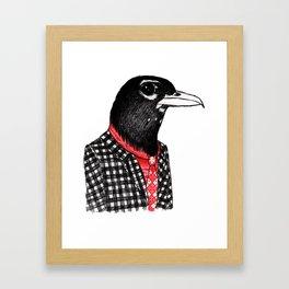 Mister Robin Framed Art Print