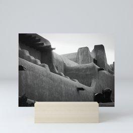 Adobe Lines Mini Art Print