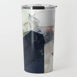 White Landscape from an Aerial View Travel Mug