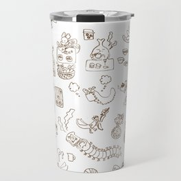 Sun and Breads and Insects(mono) Travel Mug
