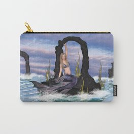 Stirring up the Sea Carry-All Pouch