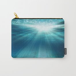Light Rays Underwater Carry-All Pouch