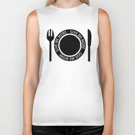 For Always Hungry Biker Tank