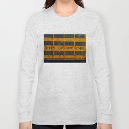 City Of New York Long Sleeve T-shirt