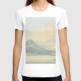 "J.M.W. Turner ""From the Isola Borromena, Lago Maggiore"" T-shirt"