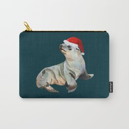 Christmas fur seal Carry-All Pouch