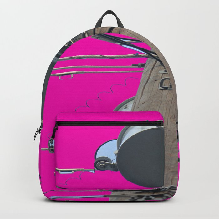 Electric Pink Bubble Gum Bitches! Backpack
