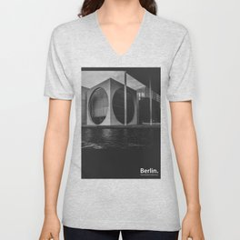 Future is Today. Berlin Unisex V-Neck