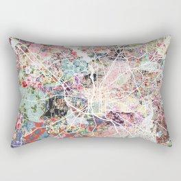 Columbus map Georgia Rectangular Pillow