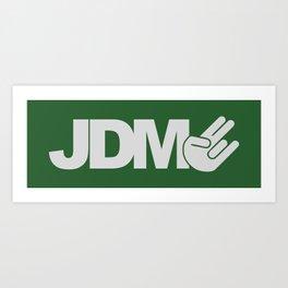 JDM shocker v7 HQvector Art Print