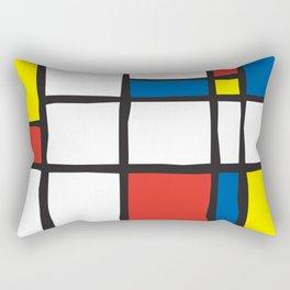 Mondrian Variation 2 Rectangular Pillow