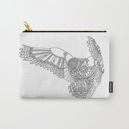 Mechanical Owl Carry-All Pouch
