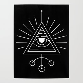 The Eye Sacred Geometry Poster