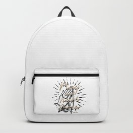 Pray and Never Give Up Backpack