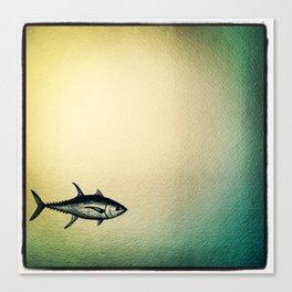 One more tuna Canvas Print