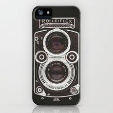 Vintage Camera 02 iPhone SE Slim Case