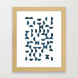 Handmade tiles Framed Art Print