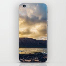 Sunrise at the Canary Islands iPhone Skin