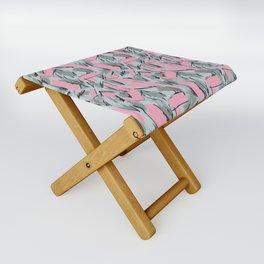 Hopper Pattern Folding Stool