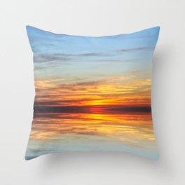 Sunset Special Throw Pillow