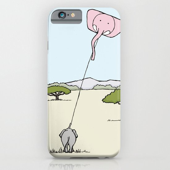 When An Elephant Flies a Kite iPhone & iPod Case
