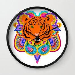 Indian Tiger Wall Clock