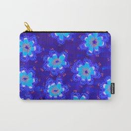 December Lace Rose Carry-All Pouch