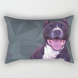 Boss Dog Rectangular Pillow