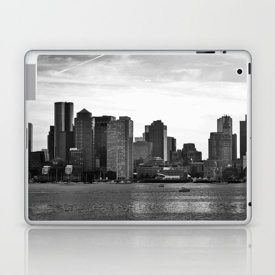 Boston, I love you. Laptop & iPad Skin