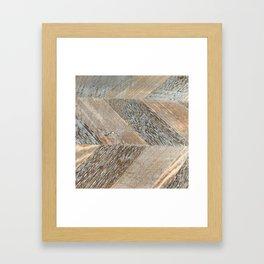 Wood Grain Texture Framed Art Print