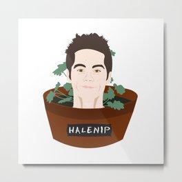 Halenip Metal Print