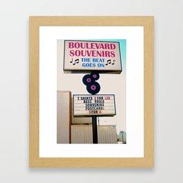 Graceland Souvenirs Framed Art Print