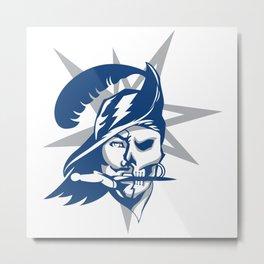 2017 Tampa Bay Sports Teams Logo V.2 Metal Print