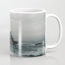 Crashing Waves on Cannon Beach Oregon Coffee Mug