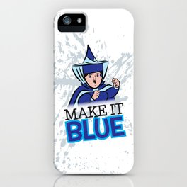 "Merryweather ""Make It Blue"" / Sleeping Beauty iPhone Case"